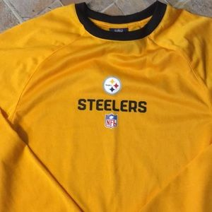 2f3fb9a0c NFL Shirts   Tops - NFL Steelers long sleeve compression shirt medium
